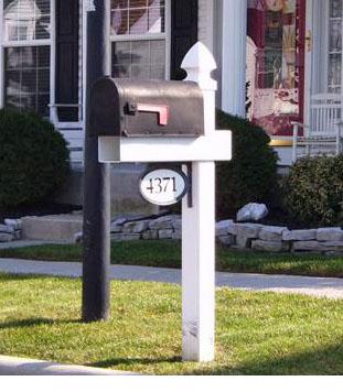 Buy Handy Vinyl Mailbox Posts Maintenance Free Vinyl