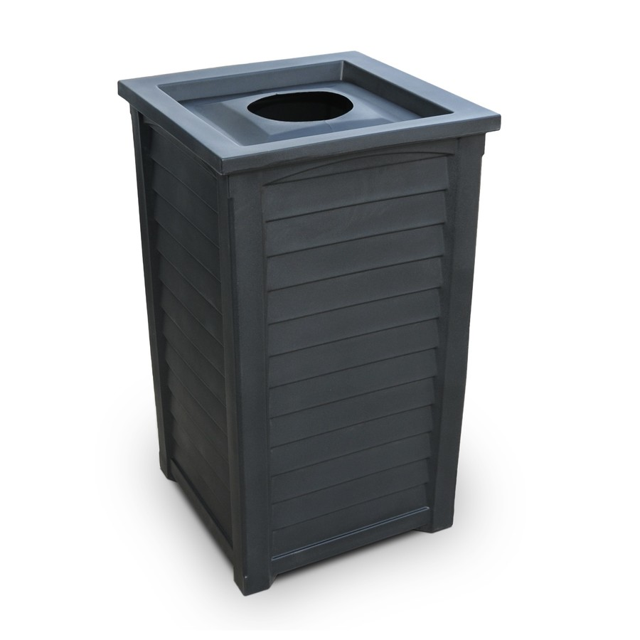 Buy mayne waste bins tall patio waste bins lakeland art deco trash bins 38 inch tall - Rd rubbish bin ...