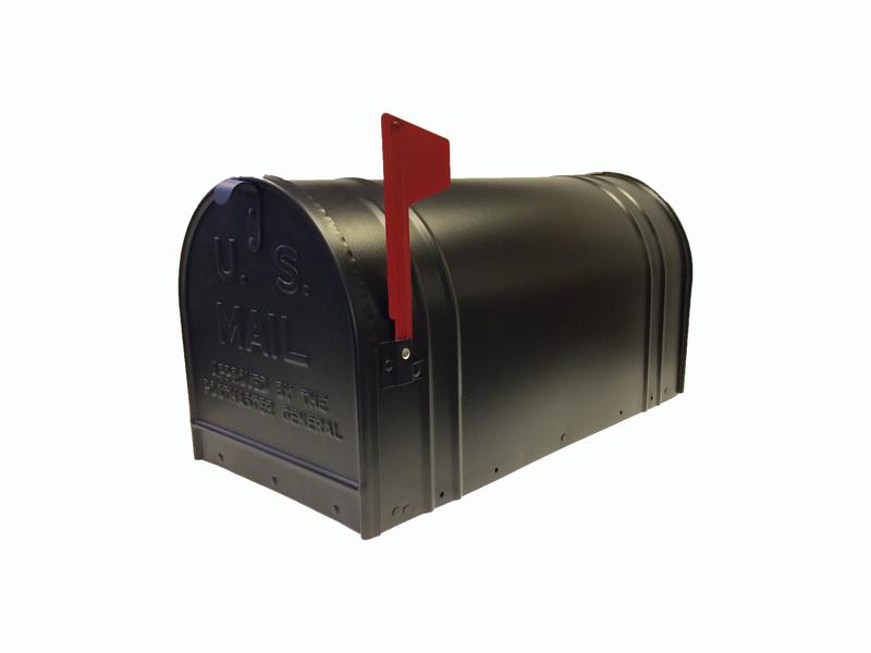2c Blk Fulton Xtra Large Rural Mailbox Fulton Rural