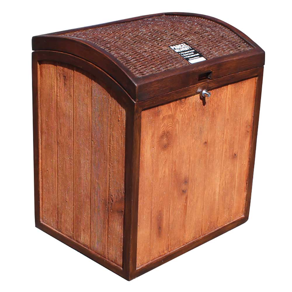 Qualarc Natura Parcel Chest Locking Parcel Box Package