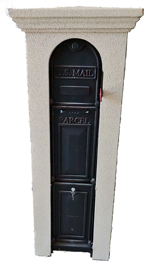 Ore Vault Enclosures Faux Stone Column Mailboxes Diy