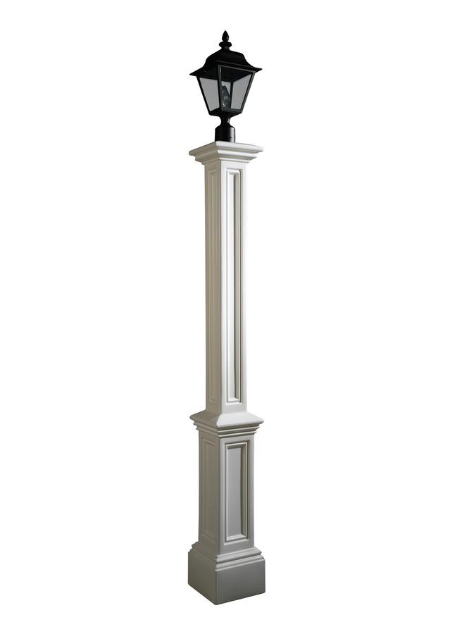 Mayne Signature Lamp Post White Mayne Lamp Posts 5835w