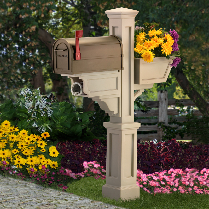 All Mayne Signature Plus Mailbox Post 5808 Amp Salsbury 4850