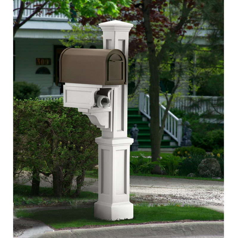 All Mayne Rockport Mailbox Post 5809 Amp Salsbury 4850d