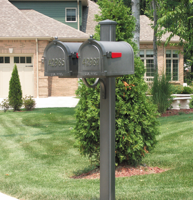 All Special Lite Main Street 4 Inch Dual Square Post Spk