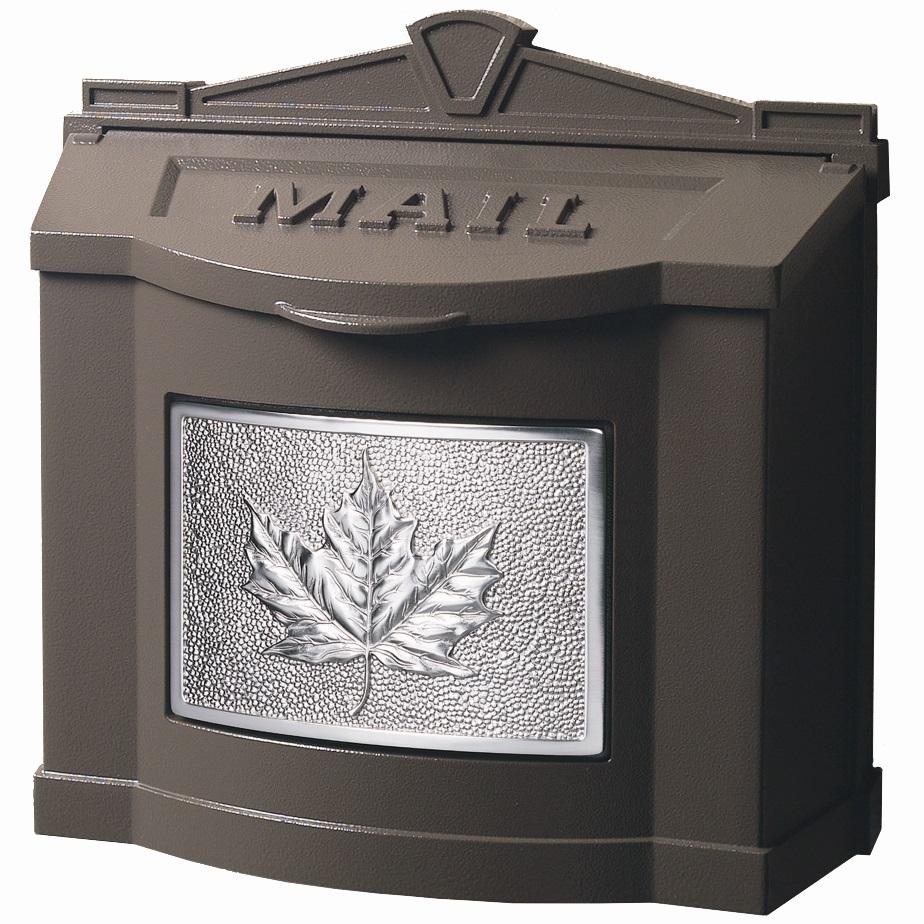 Buy Gaines Wm 9c Black Wallmount Leaf Mailbox Wm 9c Wm