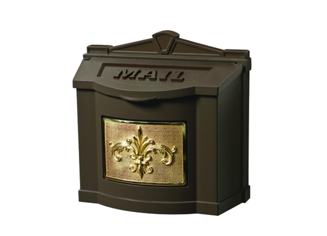 Buy Wm 2f Bronze Wallmount Mailbox Wm Fc Gaines Mailbox