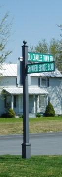Imperial Mailbox Estate Breakaway Dual Pole Mount Street
